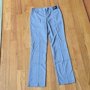 NWT grey straight leg pants sz 4T TALL NY&C Crosby